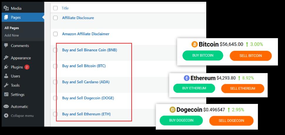 Image - WP Crypto Suite Screenshot