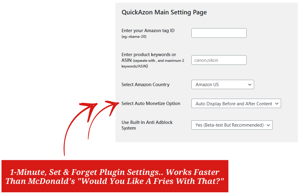 Image - WP QuicKAzon Features